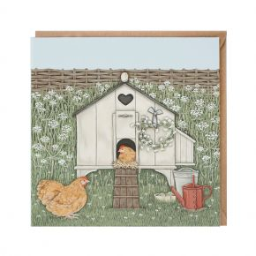 Wrendale Greeting Card - Hen House