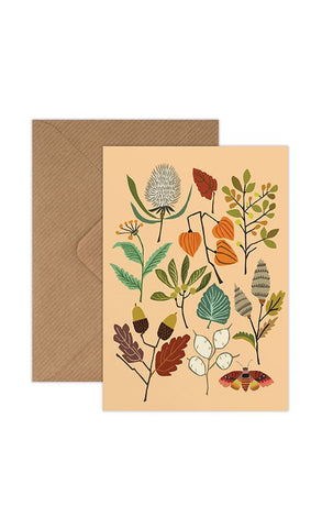 Brie Harrison Greeting Card - Autumn Walk