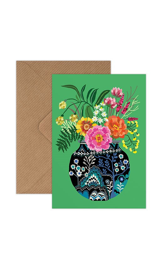 Brie Harrison Greeting Card - Fleurs