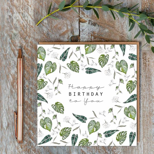 Toasted Crumpet Greeting Card - Happy Birthday to You