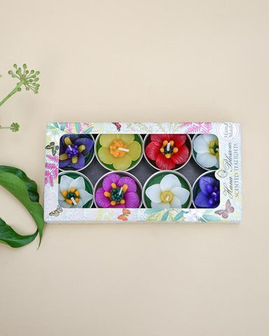 Assorted Garden Flower Scented Tea Lights