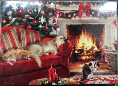Fireside Friends Christmas Cards
