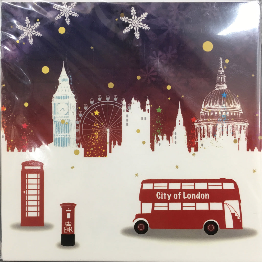 City of London' Christmas Cards