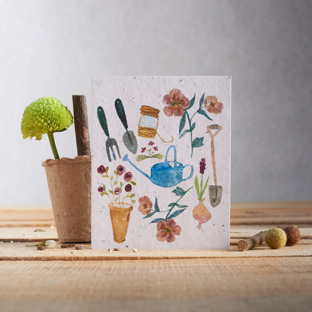 Hannah Marchant Greeting Card - Wildflower