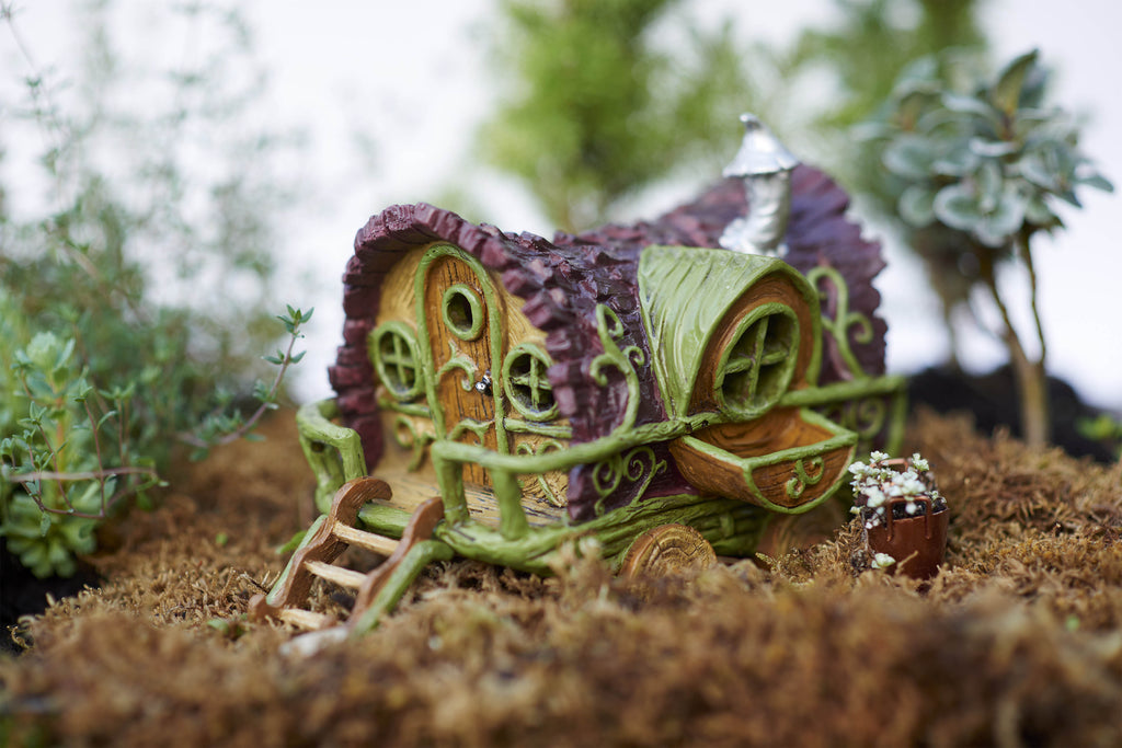 Fiddlehead Fairy Gypsy Wagon