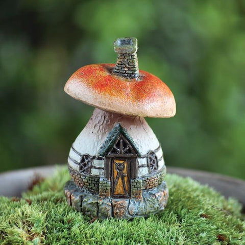 Fiddlehead Micro-Mini Mushroom Cottage