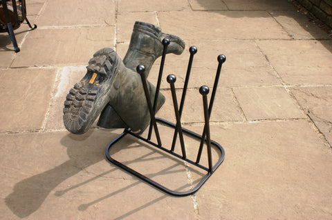 4 Pair Diagonal Wellie Stand