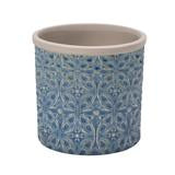 Burgon and Ball Indoor Pots - Porto Small Blue