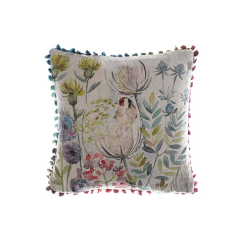 Voyage Cushion Goldfinch