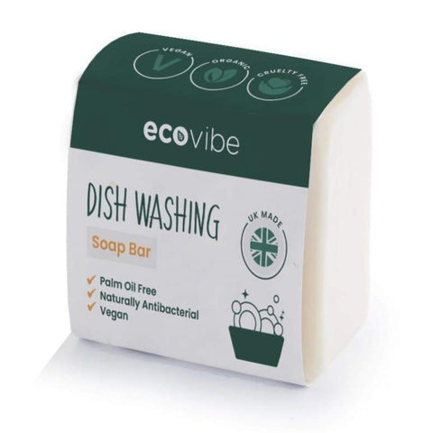 Eco Vibe Handmade Dish Washing Soap Bar 130g