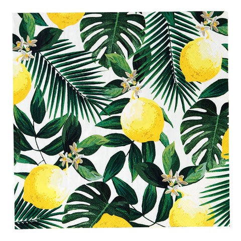 Napkins - Tropical Lemon Napkins