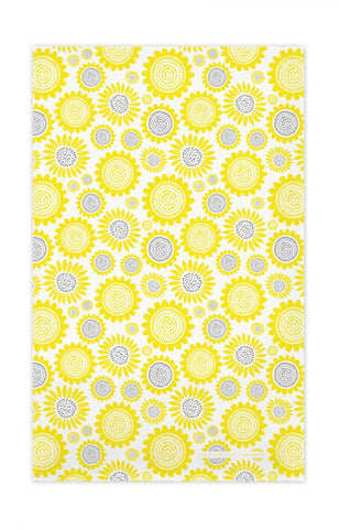 Jangneus - Yellow Sunflower Tea Towel