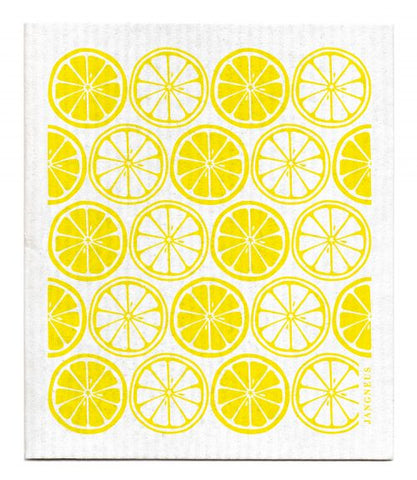 Jangneus - Yellow Citrus Dishcloth