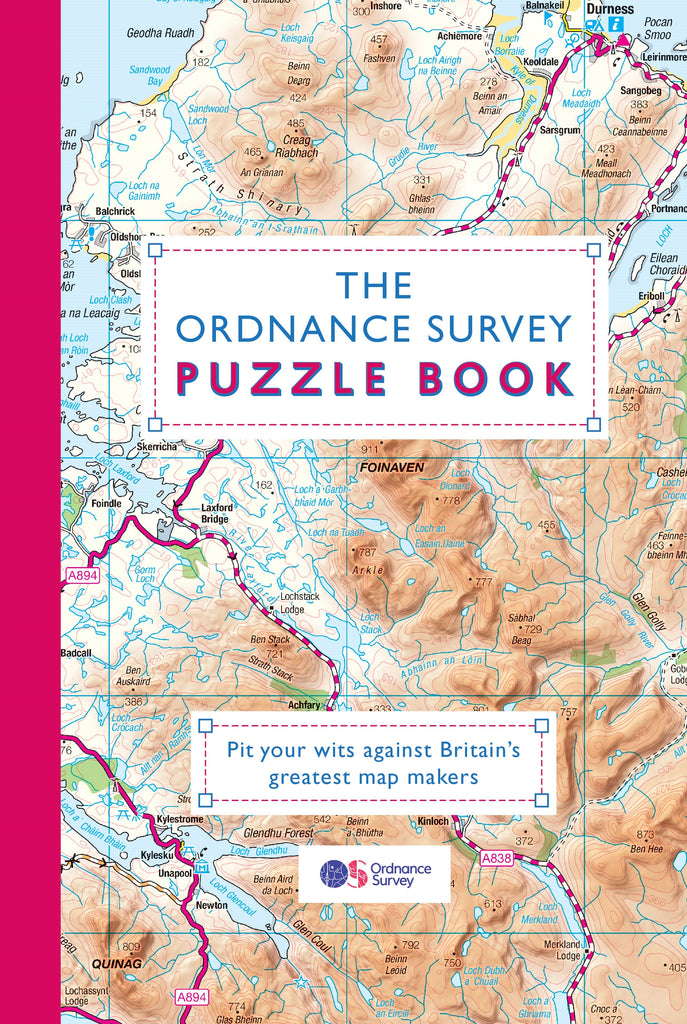 Book - The Ordnance Survey Puzzle Book