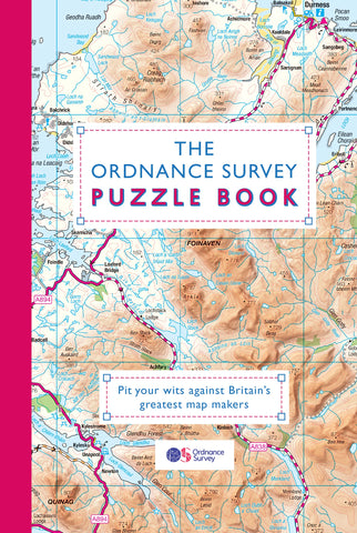 Book - The Ordnance Survey Puzzle Book by Dr Gareth Moore