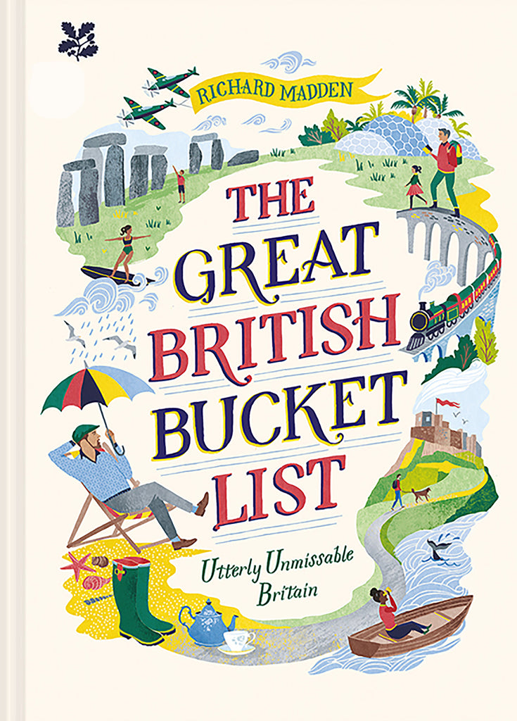 Book - The Great British Bucket List by Richard Madden