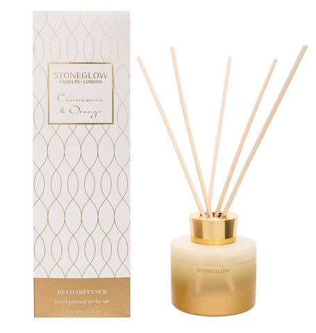 Stoneglow Cinnamon and Orange Reed Diffuser