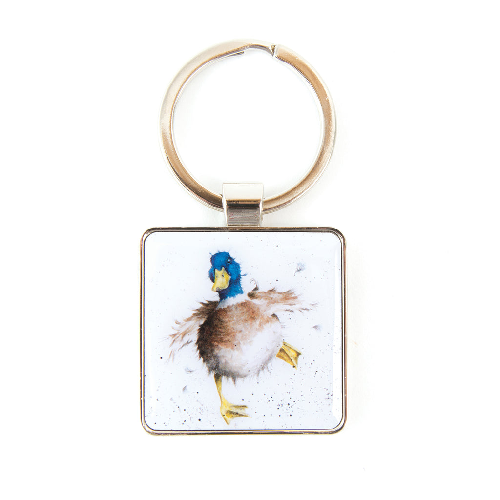 Wrendale 'A Waddle and a Quack' Keychain