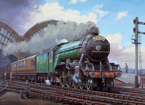 The Flying Scotsman Jigsaw Puzzle