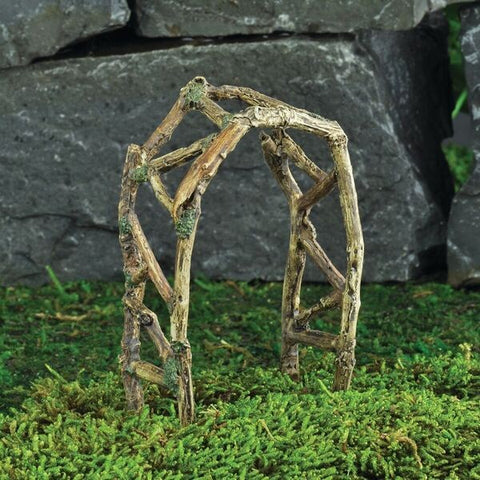 Fiddlehead Woodland Twig Arch