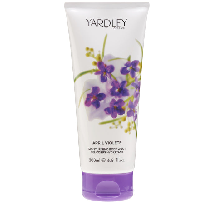 April Violets Body Wash