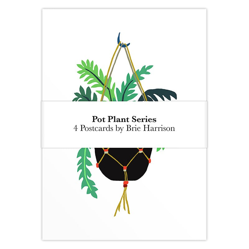 Brie Harrison Postcard Pack - Pot Plant Series
