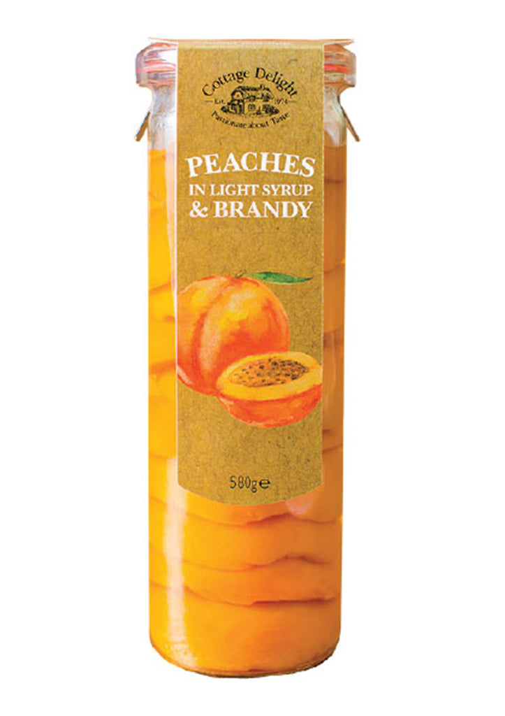 Peaches in Light Syrup & Brandy