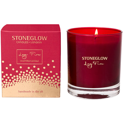 Stoneglow 'Log Fire' Tumbler