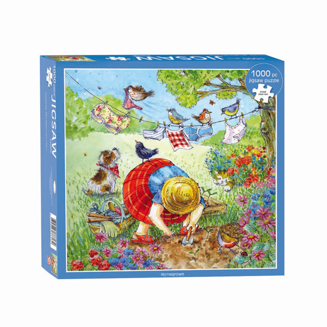 Spring Homegrown Jigsaw