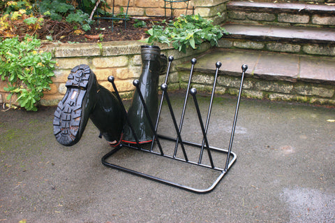 5 Pair Diagonal Boot Stand