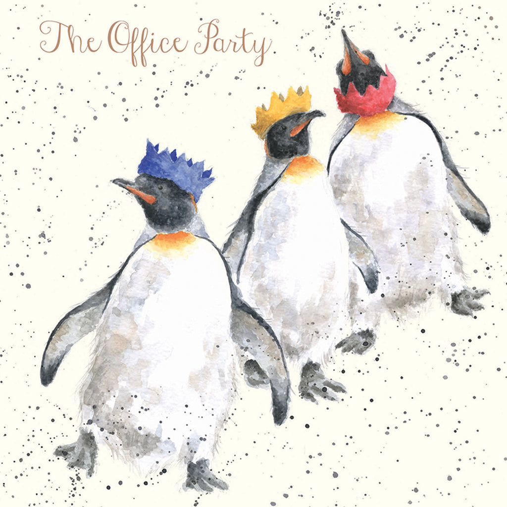'The Office Party' Christmas Card
