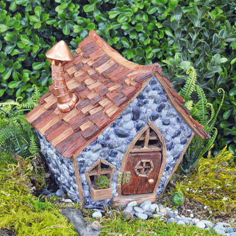 Fiddlehead Fairy Gnome Home