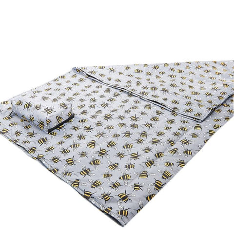 Eco Chic Bee Foldable Picnic Blanket
