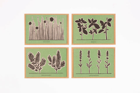 Studio Wald Recipe Notecards Herb