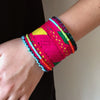 Home Addictions: Lifestyle - Beaded Ethnic Embroidered Bracelet- Fire, by  BE BES