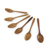 Home Addictions: Utensils - Teak Wood Teaspoon (6pcs), by  Chabatree