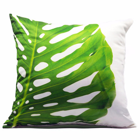 Home Addictions: Cushion Covers - Monstera Leaf Cushion Cover, by  Culture Club