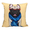 Home Addictions: Cushion Covers - Jazzy Pug Cushion Cover, by  Culture Club