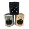 Home Addictions: Aroma Burner - Ceramic Aroma Burner - Stealth, by  Bouquet