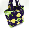 Home Addictions: Lifestyle - Reversable Kente Print Tote Bag Small - Aubergine, by  WINAWA