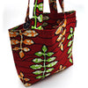 Home Addictions: Lifestyle - Reversable Kente Print Tote Bag Small - Tobasco, by  WINAWA