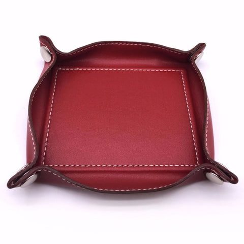 Home Addictions: Trays & Plates - Faux Leather Catchall Valet Tray, by  Home Addictions