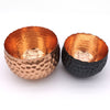 Home Addictions: Bowl - Jagged Edge Hammered Brass Bowl - Rose Gold, by  Home Addictions
