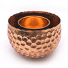 Home Addictions: Bowl - Rose Gold Hammered Brass Bowl, by  Home Addictions
