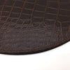 Home Addictions: Placemats - Faux Leather Embossed Crocodile Placemat, by  Home Addictions