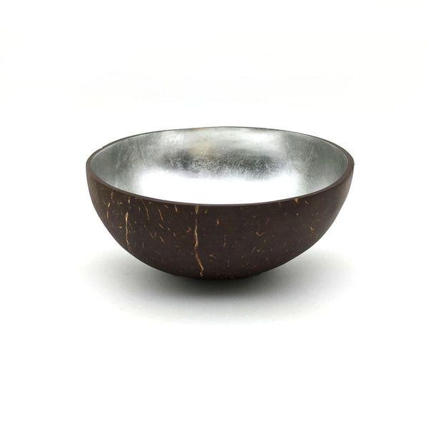Home Addictions: Bowl - Coconut Bowl - Silver, by  Bouquet