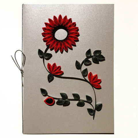 Home Addictions: Lifestyle - Quilling Card- Aster, by  Beautiful Paper Quilling