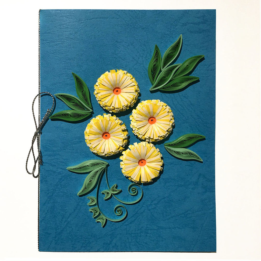 Home Addictions: Lifestyle - Quilling Card- Dandelion, by  Beautiful Paper Quilling