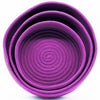Home Addictions: Baskets & Boxes - Nesting Basket Set - Purple (3pcs), by  Indian