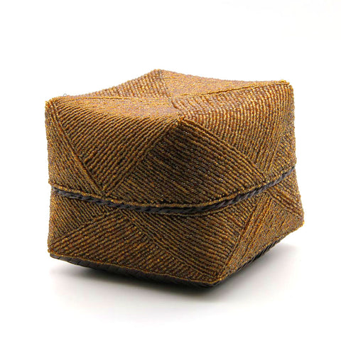 Home Addictions: Baskets & Boxes - Hand Stitched Beaded Box - Bronze (M), by  KOCH
